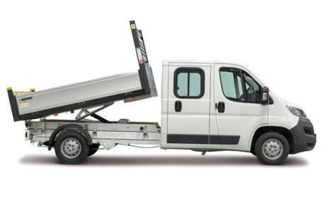 Tipper van for hire