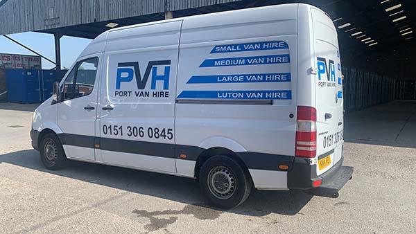 Transit van for hire