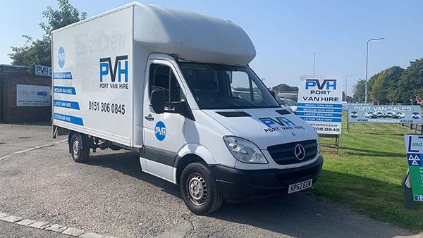 Box van for hire